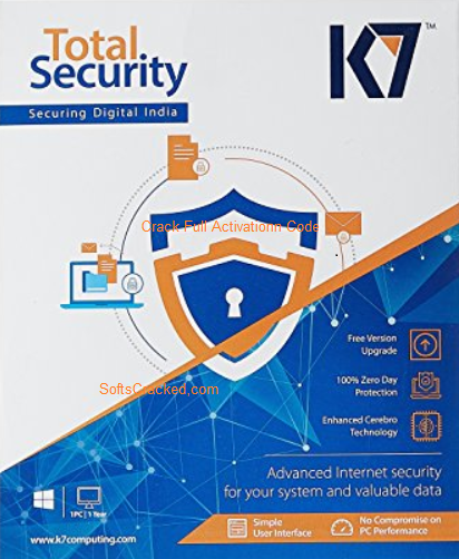 K7 Total Security Crack Full Activation Code 2018 free