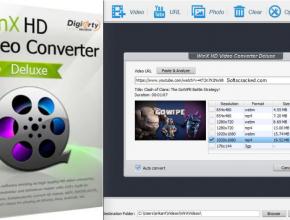 WinX HD Video Converter Deluxe Crack Full Keys
